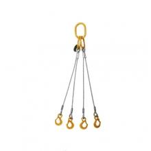 Vázací lano pr.10mm čtyřhák l=3m