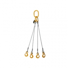 Vázací lano pr.11mm čtyřhák l=1m