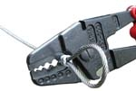 Kleště pro lisování objímek HSC 350
