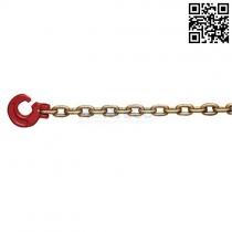 Lesnický řetěz pr.6 mm se štěrbinovým hákem, L=2m