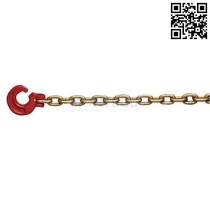 Lesnický řetěz pr.6 mm se štěrbinovým hákem, L=2,5m