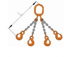 Vázací řetězový čtyřhák tř.12 pr.10 mm