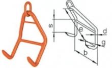 Stohovací hák GHW 10  nosnost 4 t