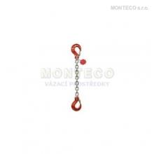 Vázací řetěz hák-hák pr.6mm,L=5m