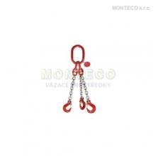Vázací řetěz trojhák pr.10mm,L=6m