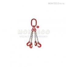 Vázací řetěz čtyřhák pr.10mm,L=1m