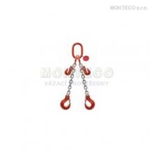Vázací řetěz dvojhák  se zkracovačem pr.10mm,L=4m
