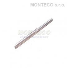 Nerezová závitová koncovka pr.6 mm M12