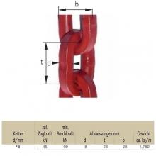Lesnický řetěz pr.8mm  tř.8 čtvercový