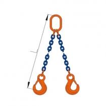 Vázací řetěz 2hák tř.10,pr.10mm,L=6m