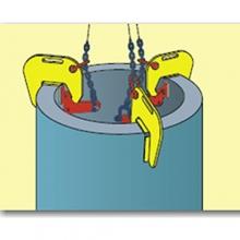 svěrky na betonové skruže BRG 18