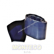 PVC ochrana pásu a smyček se suchým zipem š.160 mm