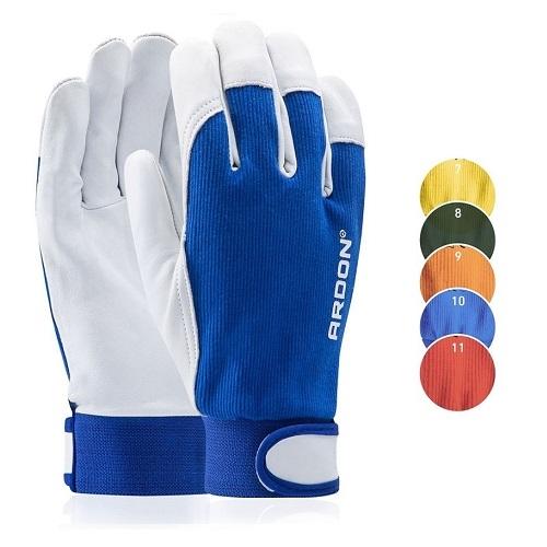 ochranné pracovní rukavice HOBBY ARDON 8