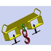 Závěs na vidlici  MINF-2, 3T dvojitý