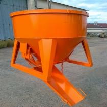 Koš na beton - bádie 350 lt. typ 1091S.5