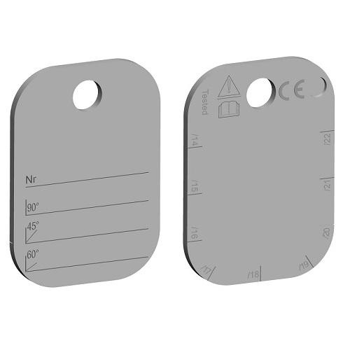 Identifikační štítek G10