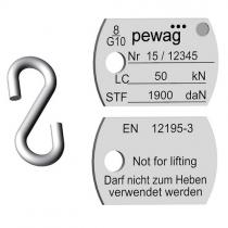 Identifikační kotevní štítek  G10