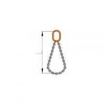 Nekonečný řetěz s okem   pr.8 mm/2m