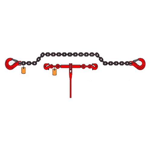 kotevní řetěz pr.8 mm s ráčnou l=3m