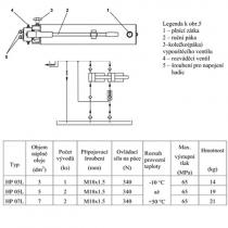 Hydraulické čerpadlo HP 03