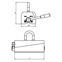 Břemenový permanentní magnet Neol1500
