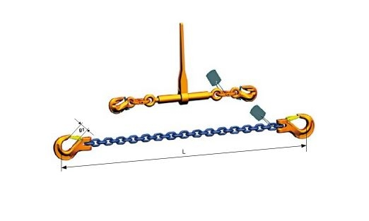 Kotevní řetěz pr.10mm, L=6m