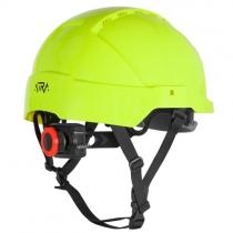 Helma ATRA 10V, žlutozelená (reflexní)