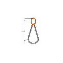 Nekonečný řetěz s okem   pr.8 mm/1m